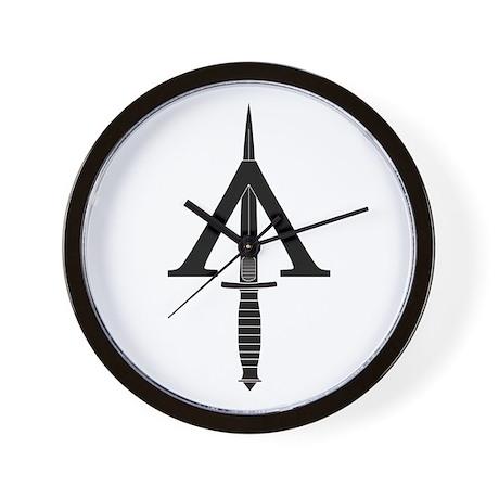 Shadow Warrior Wall Clock