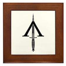 Shadow Warrior Framed Tile