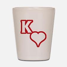Kappa Sweet Shot Glass