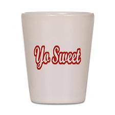 Yo Sweet Shot Glass