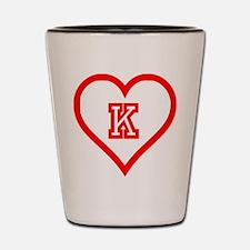 Kappa Sweetheart Shot Glass