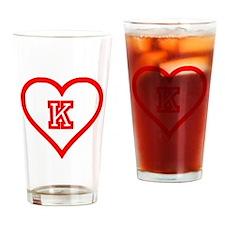 Kappa Sweetheart Drinking Glass
