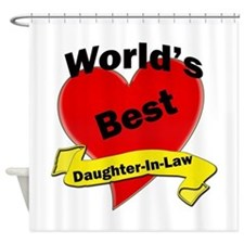 Cute Daughter in law Shower Curtain