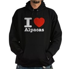 I Love Alpacas Hoody