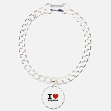 I Love Alpacas Bracelet