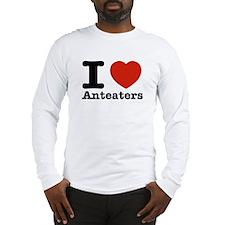 I Love Anteaters Long Sleeve T-Shirt