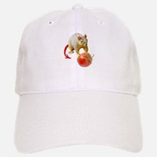 Devil Squirrel Stealing Tomato Baseball Baseball Cap