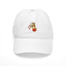 Devil Squirrel Stealing Tomato Baseball Cap