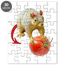 Devil Squirrel Stealing Tomato Puzzle