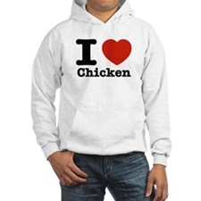 I Love Chicken Jumper Hoody