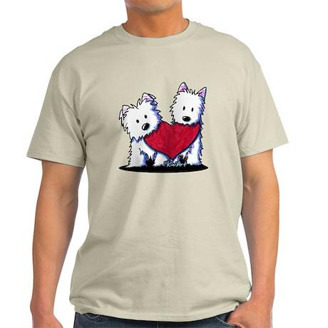 Heartfelt Westies Light T-Shirt