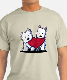 Heartfelt Westies T-Shirt