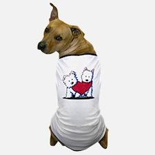 Heartfelt Westies Dog T-Shirt