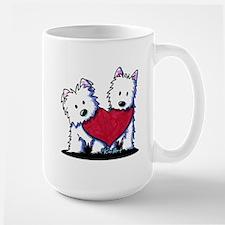 Heartfelt Westies Mug