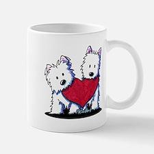 Heartfelt Westies Small Small Mug