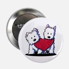 "Heartfelt Westies 2.25"" Button"