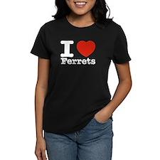 I Love Ferrets Tee