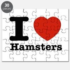I Love Hamsters Puzzle