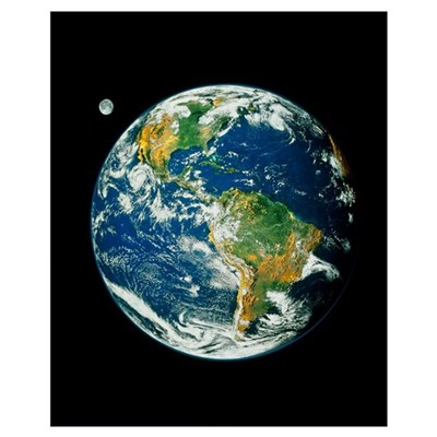 Whole Earth (Blue Marble 2000) Poster