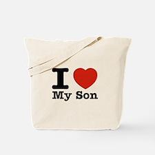 I Love My Son Tote Bag