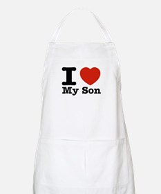I Love My Son Apron