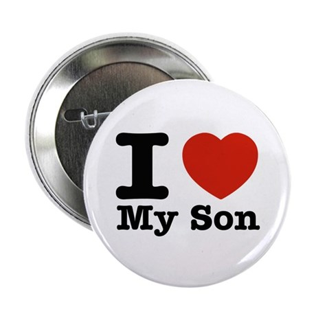 "I Love My Son 2.25"" Button (10 pack)"