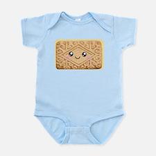 Cute Vanilla Cream Cookie Infant Bodysuit