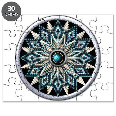 Native American Rosette 04 Puzzle