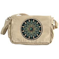 Native American Rosette 04 Messenger Bag