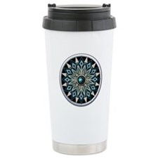 Native American Rosette 04 Travel Mug
