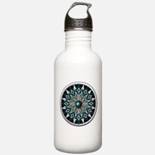 Native American Rosette 04 Water Bottle