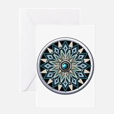 Native American Rosette 04 Greeting Card
