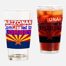 arizonaromneyflag.png Drinking Glass