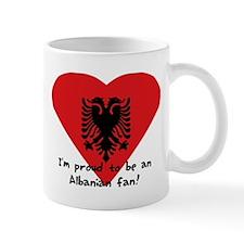 Albanian proud flag Mug