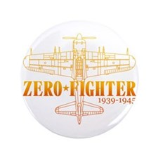 """ZEROFIGHTER4 3.5"""" Button"""