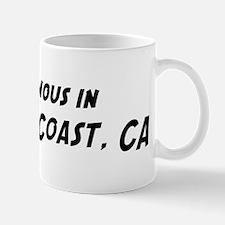 Famous in Newport Coast Mug