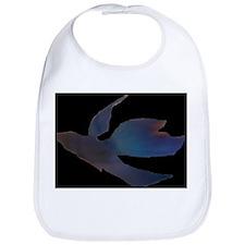 Abstract Betta Fish - black Bib
