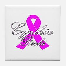 Mrs Cynthia to be Tile Coaster