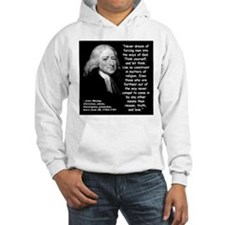 Wesley Religion Quote 2 Hoodie