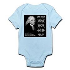 Wesley Religion Quote 2 Infant Bodysuit