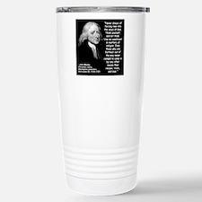 Wesley Religion Quote 2 Travel Mug