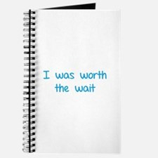 I was worth the wait Journal
