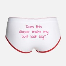 Does this diaper make my butt look big? Women's Bo