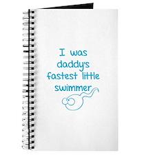 I was daddy's fastest little swimmer Journal