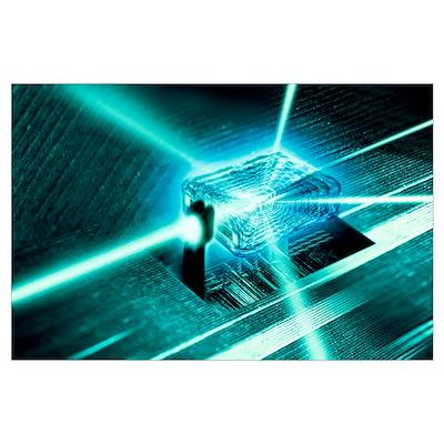 Quantum computer core Poster
