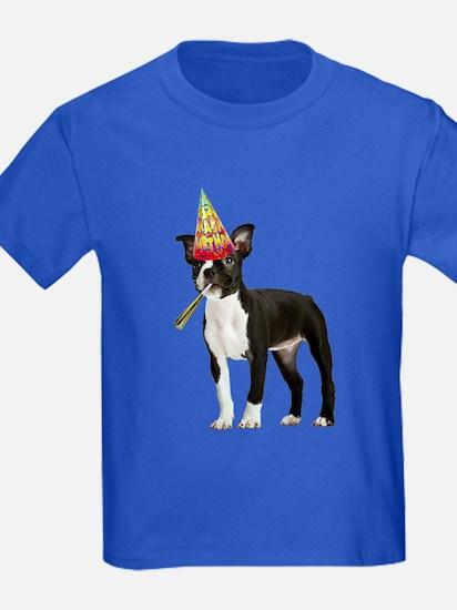 Boston Terrier Birthday T