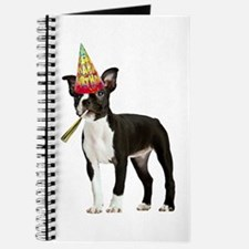 Boston Terrier Birthday Journal