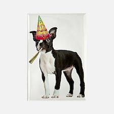 Boston Terrier Birthday Rectangle Magnet
