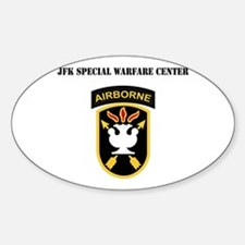 SSI - JFK Special Warfare Center with Text Decal