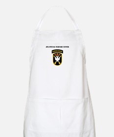 SSI - JFK Special Warfare Center with Text Apron